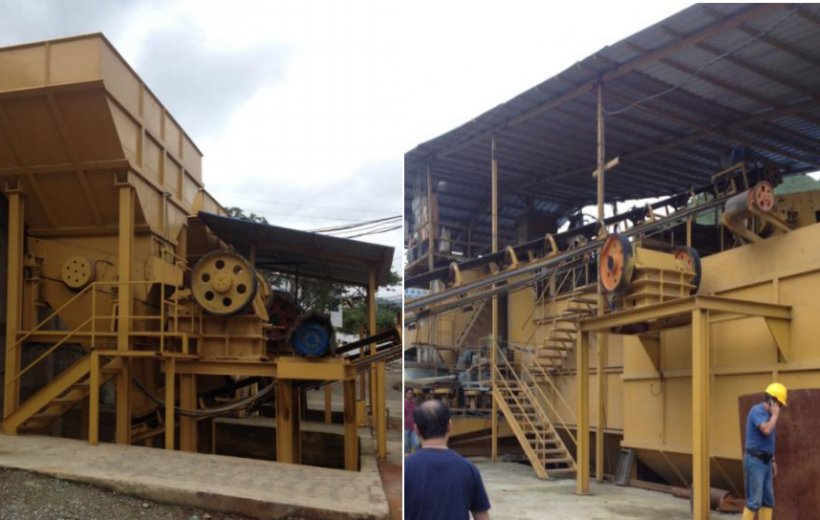500T/D CARBON SLURRY PROCESSING EPC PROJECT IN ECUADOR